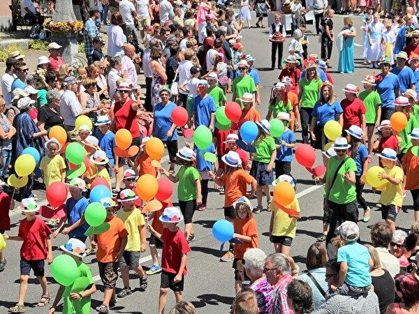 Kinderfest 2015 - Ballonkinder