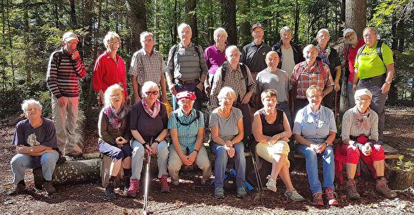 Seniorenwandergruppe