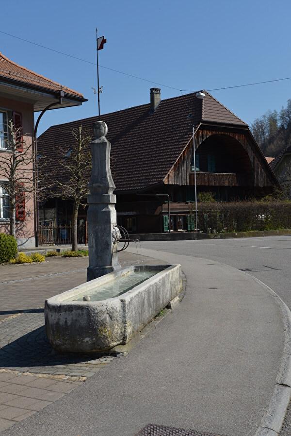 Wild-Dorfbrunnen