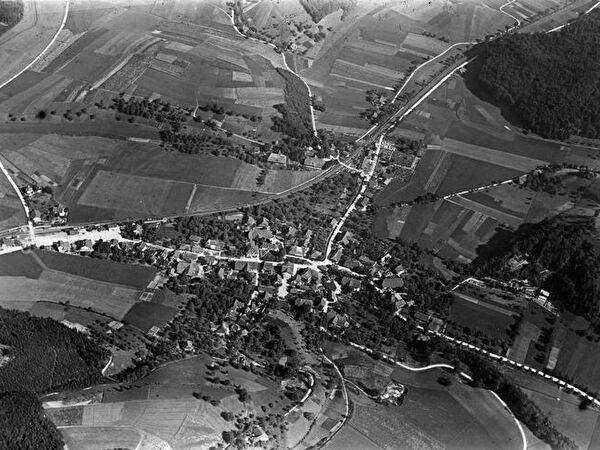 Luftaufnahme Wynigen