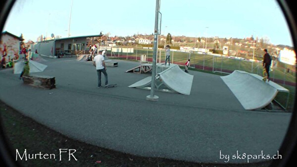 Bild des Skaterparkes