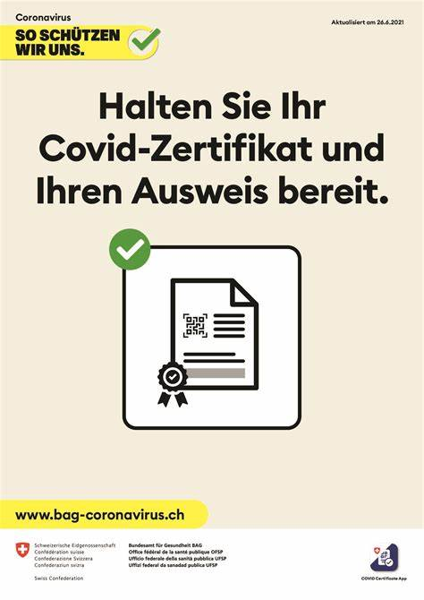 Covid Zertifikat