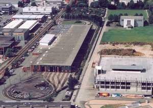 Park- & Ride-Gebäude der BLT