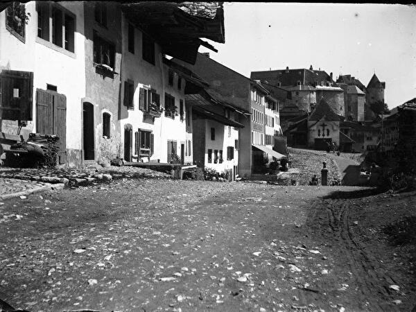 Gruyères en 1900