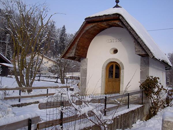 Chapelle Ste Agathe à Pringy