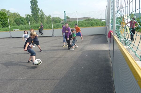 Gemeinde Pratteln Streetsoccer Sport Bewegung Spass
