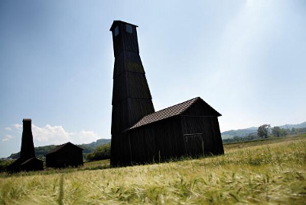 Bohrtürme Saline Gemeinde Pratteln