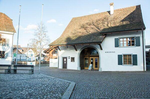 Bürgerhaus Bürgergemeinde Gemeinde Pratteln Einbürgerung Bürgermuseum