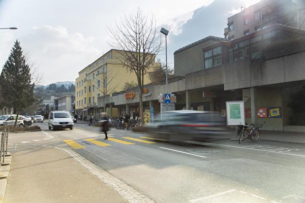 Bahnhofstrasse Gemeinde Pratteln