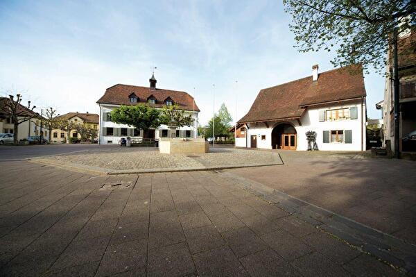 Schmittiplatz Gemeinde Pratteln Schmiedeplatz Schmitti