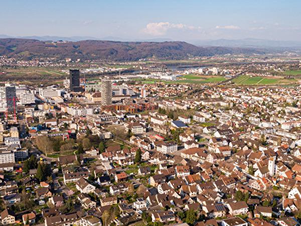 Panoramabild Gemeinde Pratteln