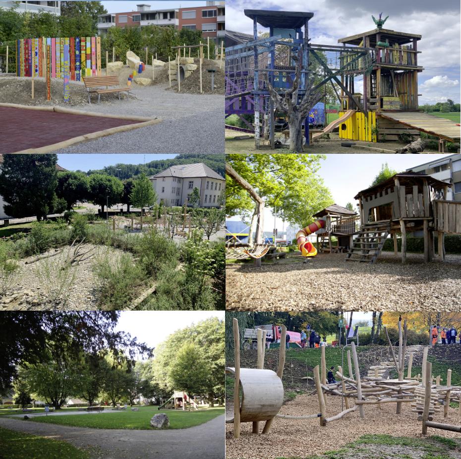 Gemeinde Pratteln Spielplatz