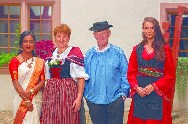 Tracht lacht Brauchtum Gemeinde Pratteln schwingt ESAF