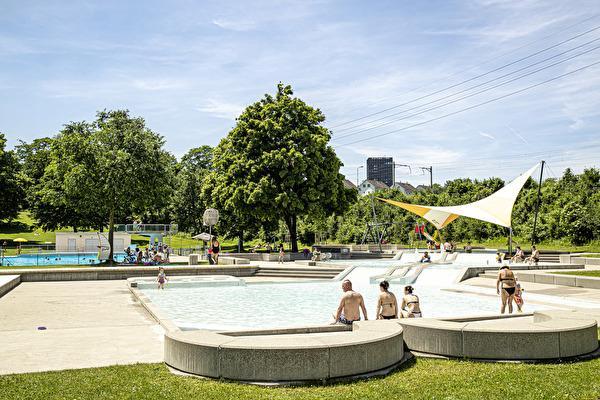 Gemeinde Pratteln, Schwimmbad, Bereich Kinder
