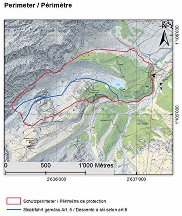 Auenschutzgebiet Feegletscher