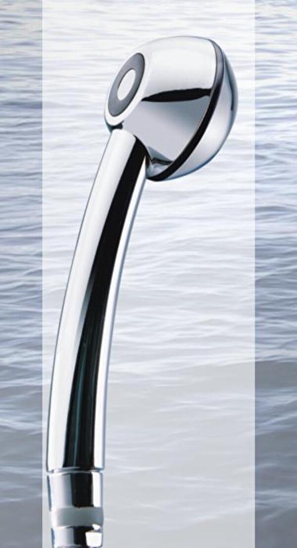 Duschbrause mit integriertem Durchlaufbegrenzer