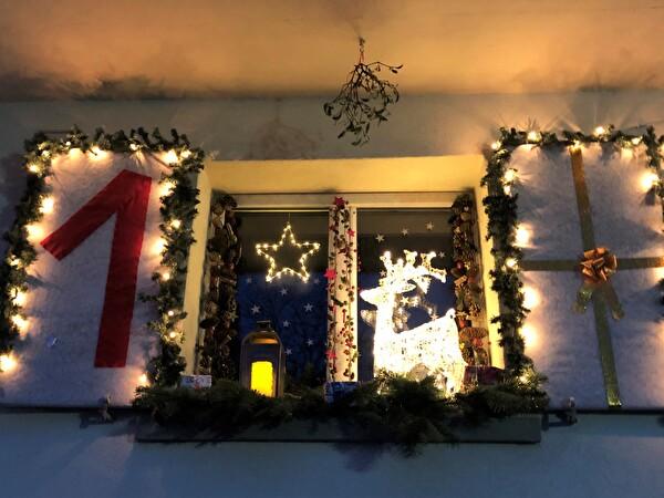 Adventsfenster 1. Dezember 2019