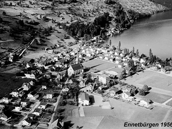 Ennetbürgen 1956