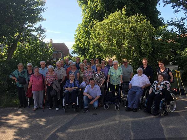 Seniorenfahrt 2018 Gruppenbild