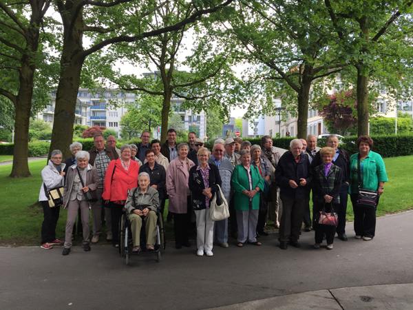 Gruppenbild Seniorenfahrt 2015