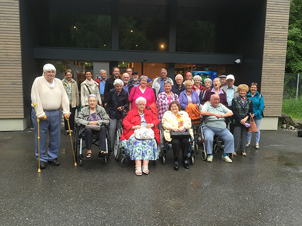 Seniorenfahrt 2016 - Gruppenbild