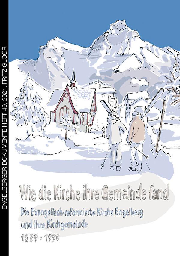 Die evangelisch-reformierte Kirche im Winter