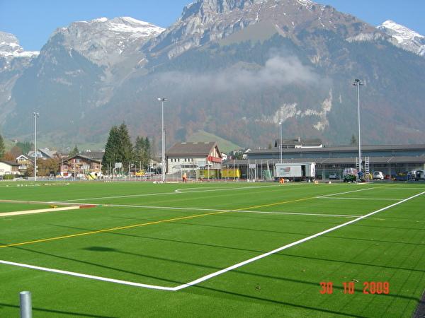 Der neue Sportplatz Wyden