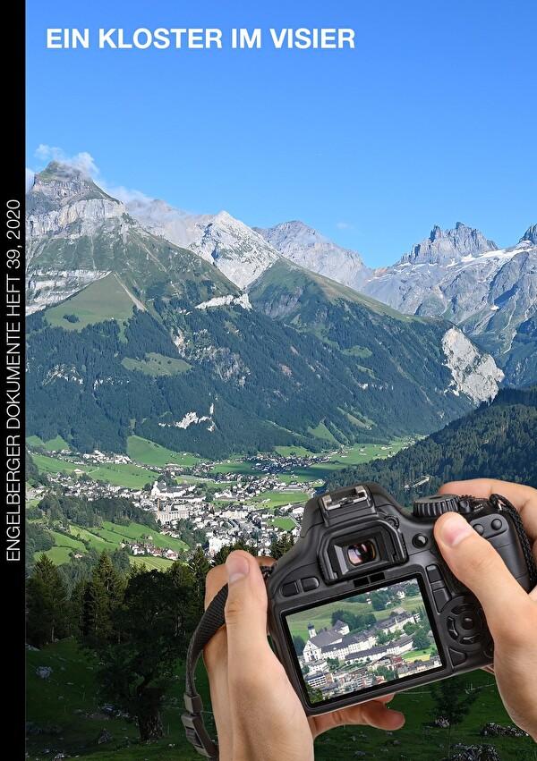 Eine Kamera hat das Kloster Engelberg im Visier