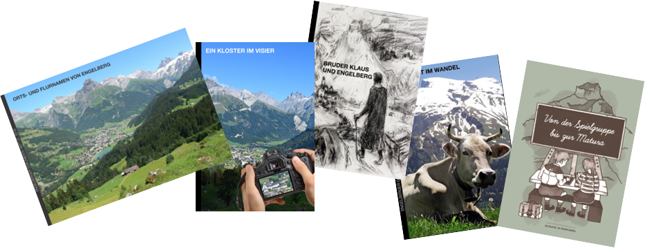 Collage Engelberger Dokumente