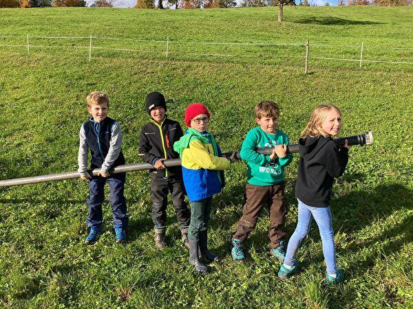 Schule auf dem Bauernhof - Unterstufe