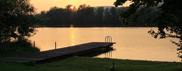 Camping Sonnenuntergang