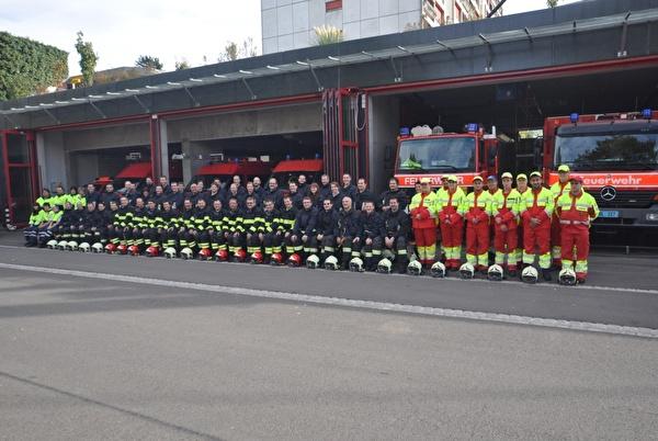 Feuerwehr Mannschaft