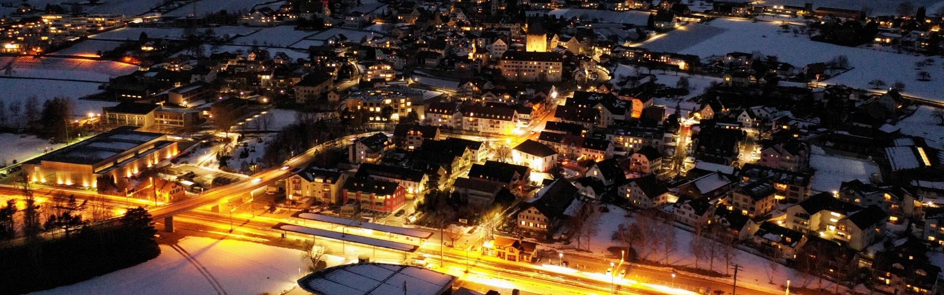 Maienfeld Winter