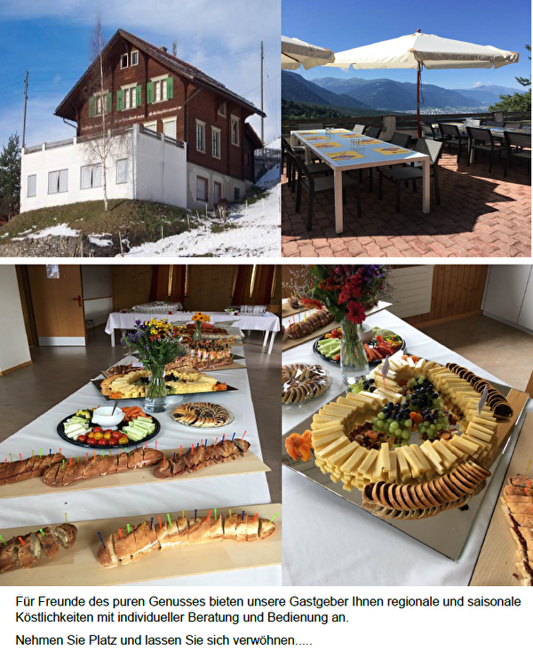 Schulhaus Büel mit Kulinarik