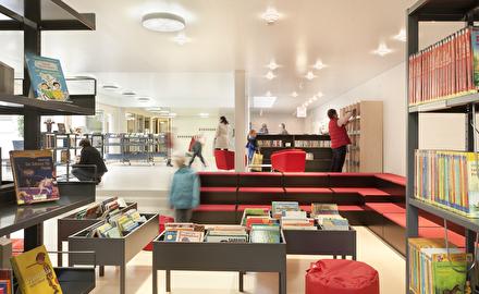 Stelleninserat Mitarbeiterin Bibliothek