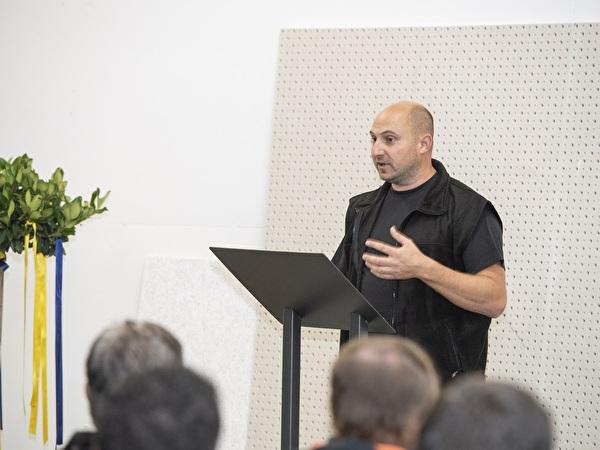 Daniel Durrer, Geschäftsführer der Durrer Sägerei + Trockenbau GmbH