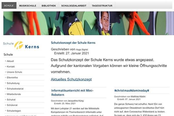 Homepage Schule