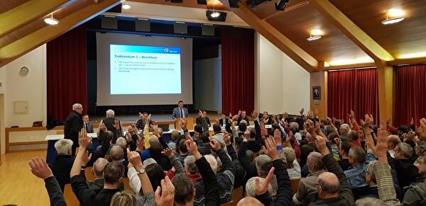 Botschaft Gemeindeversammlung