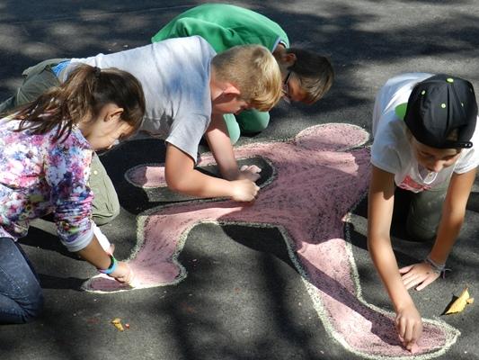 Wir legen Wert auf soziales Lernen als Basis unserer Schulgemeinschaft.