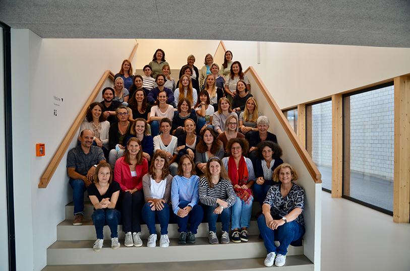 Das Kollegium der Schule Hausen AG SJ 2021/2022