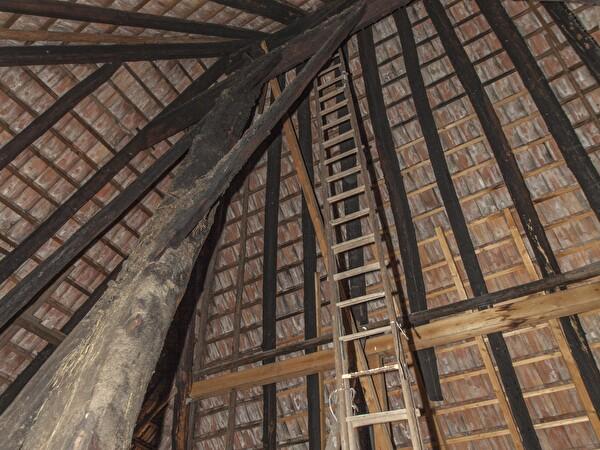 Innenansicht Dach