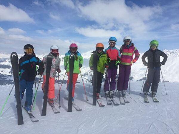 Skilager 2018, los gehts zur Abfahrt