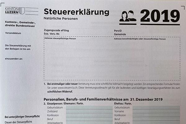Fristerstreckung Steuererklärung