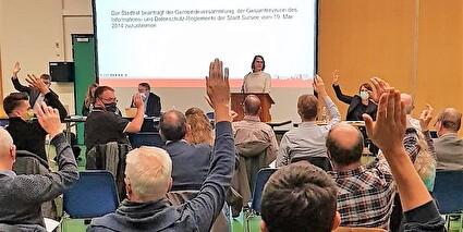 Gemeindeversammlung 18. Oktober 2021