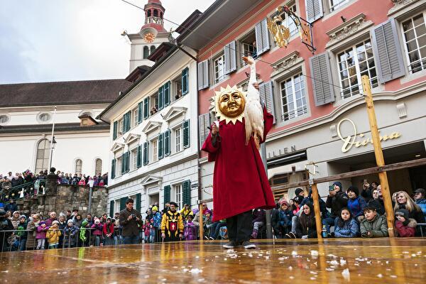 Die traditionelle Gansabhauet ist dieses Jahr erneut abgesagt. Foto: Bruno Meier, Sursee.