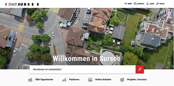 Startseite Sursee.ch