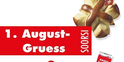 1. August-Gruess von Stadtpräsidentin Sabine Beck-Pflugshaupt