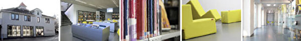 Fotocollage Stadtbibliothek