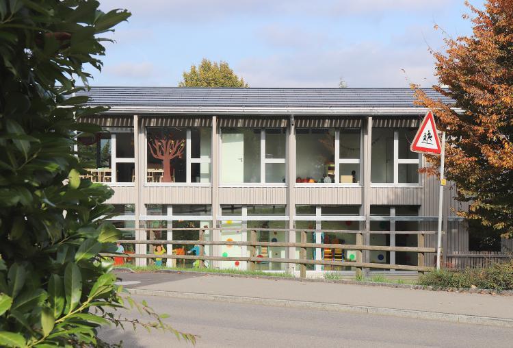 Kindergarten Meierhof nach Minergie Standard