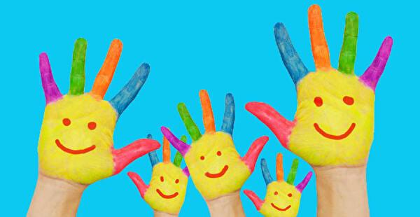 Illustration Kinderhände